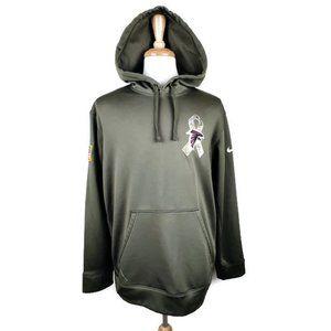 Nike NFL Atlanta Falcons Military Salute Hoodie XL